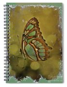 Malachite - Flying Jewel Spiral Notebook