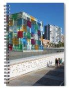 Malaga, Costa Del Sol, Malaga Province Spiral Notebook