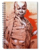 Malawi Child Sketch Spiral Notebook