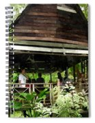 Malay Hut Spiral Notebook
