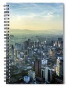 Malaysia Aerial Spiral Notebook