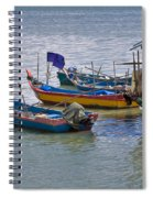 Malaysian Fishing Jetty Spiral Notebook