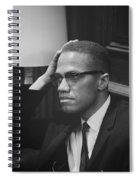 Malcolm X 1964 Spiral Notebook