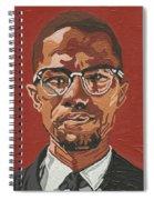 Malcolm X Spiral Notebook