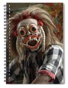 Male Berong Dancer Spiral Notebook