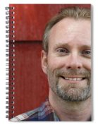 Male Smiling Spiral Notebook