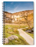 Malham Cove In Malhamdale Spiral Notebook