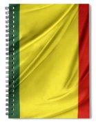 Mali Flag Spiral Notebook