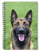 Malinois, Belgian Shepherd Dog Spiral Notebook