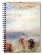 Turner's Approach To Venice Spiral Notebook