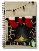 Mallow Christmas Spiral Notebook