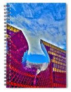 Malmo The Cut Spiral Notebook