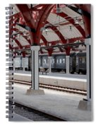 Malmo Train Station Spiral Notebook