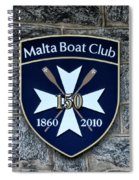 Malta Boat Club Spiral Notebook