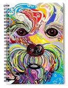 Maltese Puppy Spiral Notebook