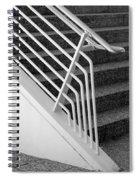 Mam Art Deco Stairs Spiral Notebook