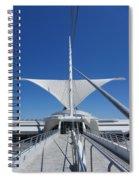 Mam From Bridge 3 Spiral Notebook