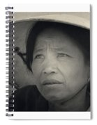 Mama San Pleiku Central Highlands Vietnam 1968 Spiral Notebook