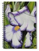 Mama's Favorite Iris Spiral Notebook