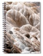 Mammoth Hot Springs Closeup Spiral Notebook