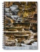 Mammoth Hot Springs - Yellowstone Spiral Notebook