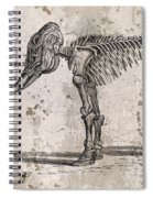Mammoth Skeleton Spiral Notebook