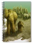 Mammoths Spiral Notebook