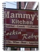 Mammy's Kitchen In Bardstown Kentucky Spiral Notebook