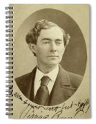 Man, 1874 Spiral Notebook