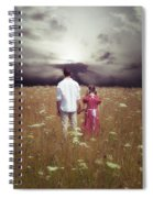 Man And Girl Spiral Notebook