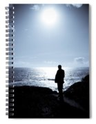 Man And  The Sea Spiral Notebook
