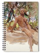 Man And Trees. Florida Spiral Notebook