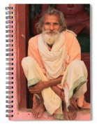 Man From India Spiral Notebook