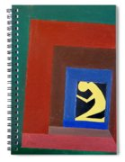 Man In A Box Spiral Notebook