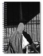 Man In The Street Spiral Notebook