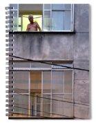 Man In The Window Spiral Notebook