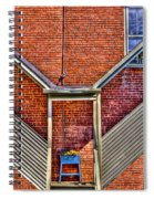 Man In The Window Spiral Notebook