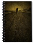 Man On A Mission Spiral Notebook