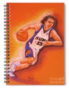 Man On Fire Spiral Notebook