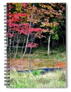 Man Ruins Nature Spiral Notebook