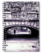 Man Under The Bridge Spiral Notebook