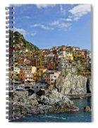 Manarola Italy Dsc02563  Spiral Notebook