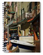 Manarola  Street - Cinque Terre Spiral Notebook
