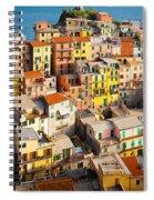 Manarola Town Spiral Notebook