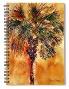 Manasota Key Palm 1 Spiral Notebook