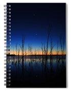Manasquan Reservoir At Dawn Spiral Notebook