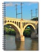 Manayunk Stone Arch Bridge Spiral Notebook