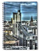 Manchester Buildings Hdr Spiral Notebook