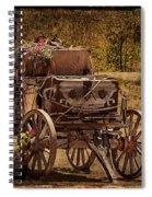 Mancos Flower Wagon Spiral Notebook