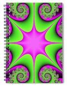 Mandala Cheerful Spiral Notebook